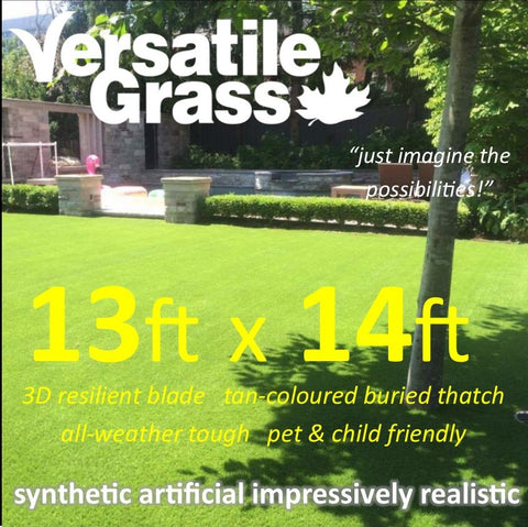 13ft x 14ft Multi Usage Synthetic Artificial Grass