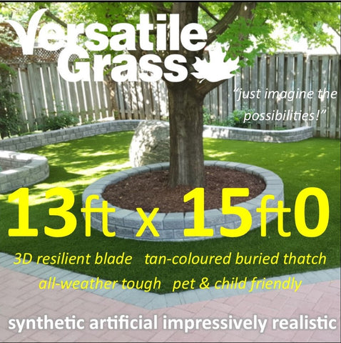 13ft x 15ft Multi Usage Synthetic Artificial Grass