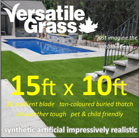 15ft x 10ft Multi Usage Synthetic Artificial Grass