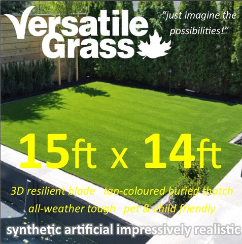 15ft x 14ft Multi Usage Synthetic Artificial Grass
