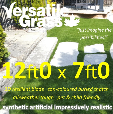 12ft x 7ft Multi Usage Synthetic Artificial Grass