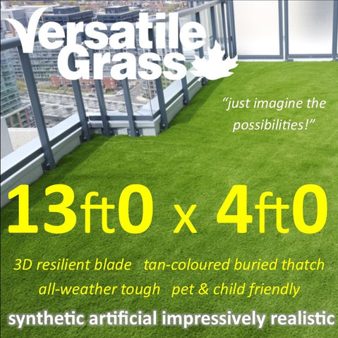 13ft x 4ft Multi Usage Synthetic Artificial Grass