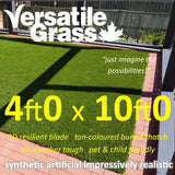 4ft x 10ft Multi Usage Synthetic Artificial Grass