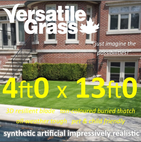 4ft x 13ft Multi Usage Synthetic Artificial Grass