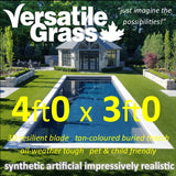 4ft x 3ft Multi Usage Synthetic Artificial Grass