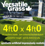 4ft x 4ft Multi Usage Synthetic Artificial Grass
