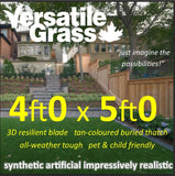 4ft x 5ft Multi Usage Synthetic Artificial Grass
