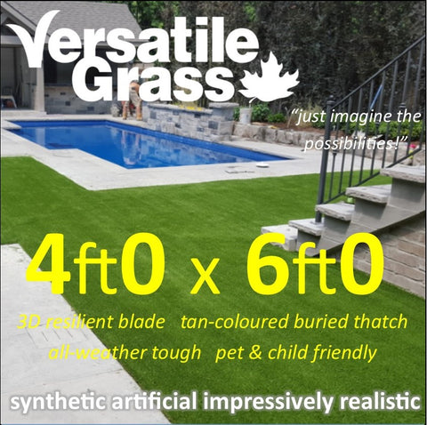 4ft x 6ft Multi Usage Synthetic Artificial Grass