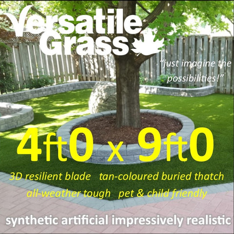 4ft x 9ft Multi Usage Synthetic Artificial Grass