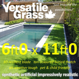 6ft x 11ft Multi Usage Synthetic Artificial Grass