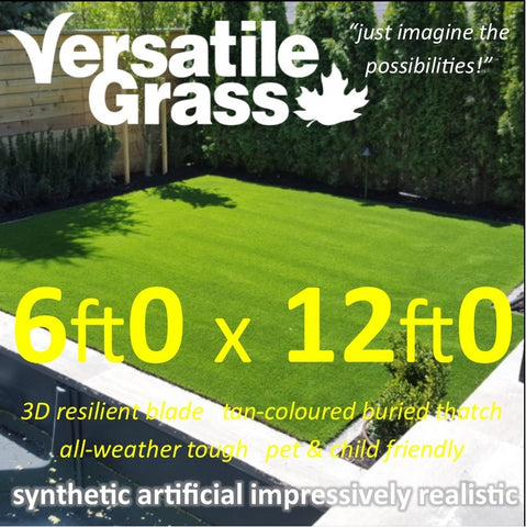 6ft x 12ft Multi Usage Synthetic Artificial Grass