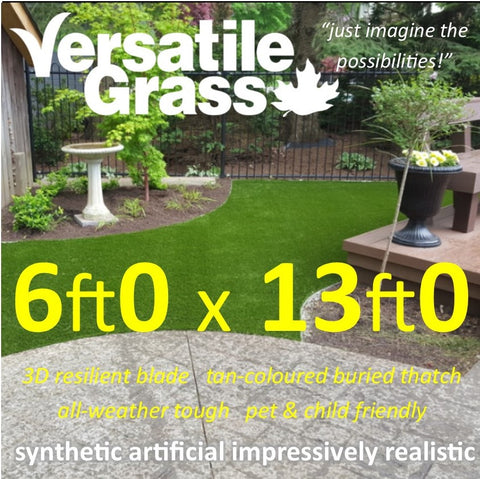 6ft x 13ft Multi Usage Synthetic Artificial Grass