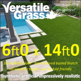 6ft x 14ft Multi Usage Synthetic Artificial Grass
