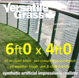 6ft x 4ft Multi Usage Synthetic Artificial Grass