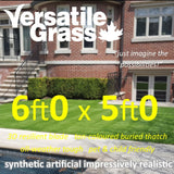 6ft x 5ft Multi Usage Synthetic Artificial Grass