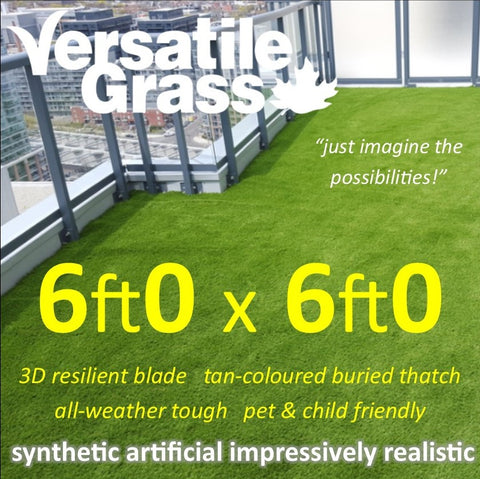 6ft x 6ft Multi Usage Synthetic Artificial Grass