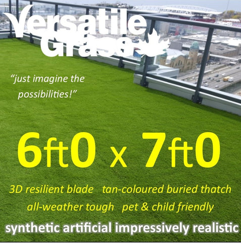 6ft x 7ft Multi Usage Synthetic Artificial Grass