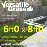 6ft x 8ft Multi Usage Synthetic Artificial Grass