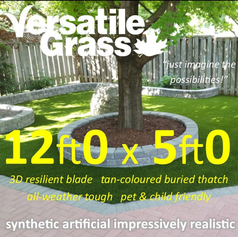 12ft x 5ft Multi Usage Synthetic Artificial Grass