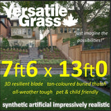 7ft6 x 13ft Multi Usage Synthetic Artificial Grass