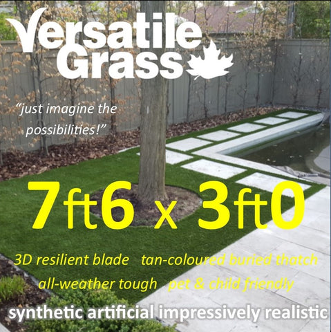 7ft6 x 3ft Multi Usage Synthetic Artificial Grass