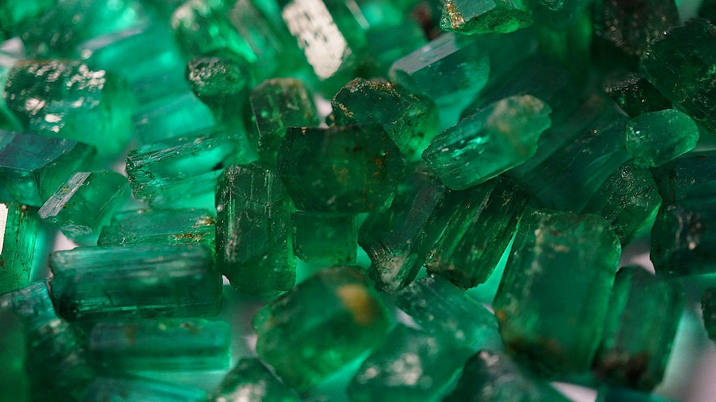 emerald crystals from Afghanistan