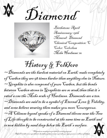 #Diamond #Diamonds #Crystals #Gemstones #Folklore #GemstoneMeaning #AlphaVariable