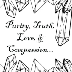 purity compassion and truth