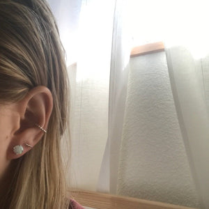 sterling silver opal earrings customer review photo