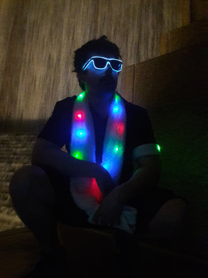 LED Scarf - LED Gear - AlphaVariable