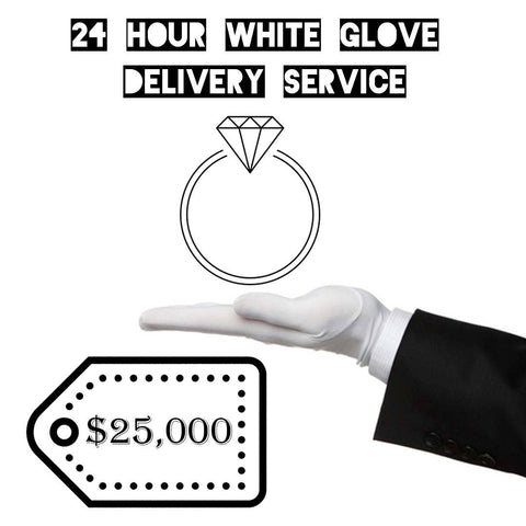 24 Hour White Glove Delivery Service - Custom Order - AlphaVariable