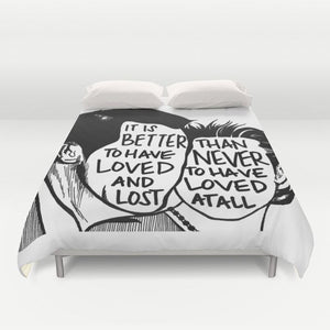 Loved & Lost Duvet Cover - Duvet Cover - AlphaVariable