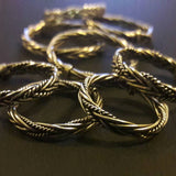 Braided Silver Stacking Ring - Ring - AlphaVariable