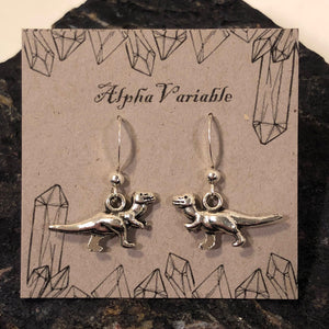 Dinosaur Earrings - Earrings - AlphaVariable