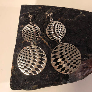 Disco Ball Earrings - Earrings - AlphaVariable