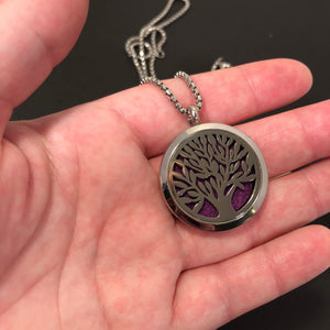 Tree of Life Essential Oil Diffuser Necklace - Diffuser Necklace - AlphaVariable