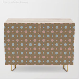 Dots + Lines Credenza -  - AlphaVariable