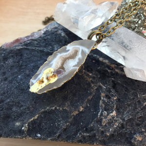 Druzy Necklace -  - AlphaVariable