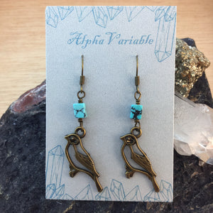 Bird Earrings - Earrings - AlphaVariable