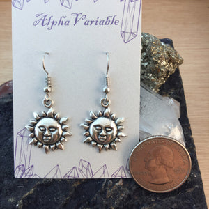 Sun Earrings - Earrings - AlphaVariable