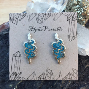 Snake Earrings - Earrings - AlphaVariable