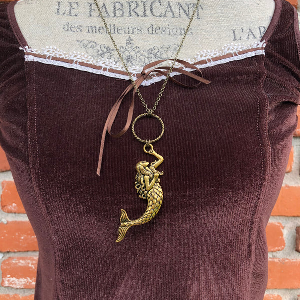 Mermaid Necklace - Necklace - AlphaVariable
