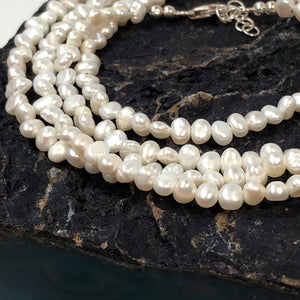 Pearl Necklace - Necklace - AlphaVariable