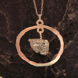 Pyrite Necklace -  - AlphaVariable