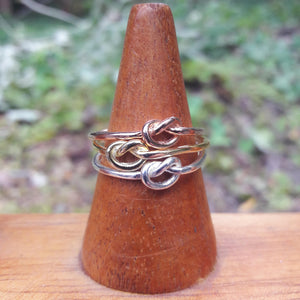 Silver Knot Ring - Ring - AlphaVariable