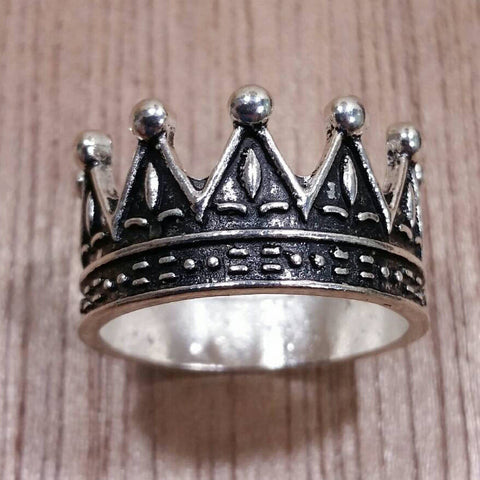 Crown Ring - Rings - AlphaVariable