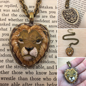 Lion Necklace - Necklace - AlphaVariable