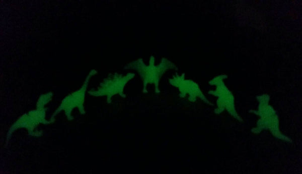 Glow in the Dark Dinosaur Necklace -  - AlphaVariable