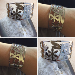 Dragonfly Cuff Bracelet - Bracelet - AlphaVariable