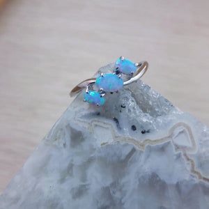 Triple Opal Ring - Ring - AlphaVariable